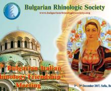 Kongres 6th Bulgarian-Italian Rhinology Frendship Meeting